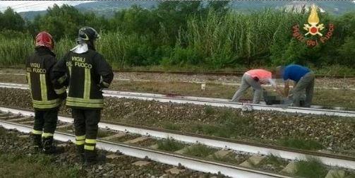 brancaleone bambini treno