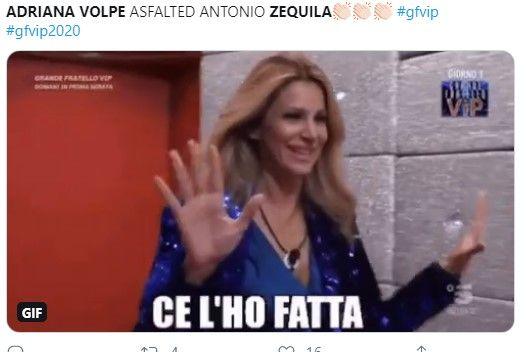 adriana volpe zequila gfvip video 1