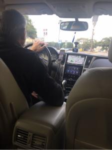autista Uber a Seattle
