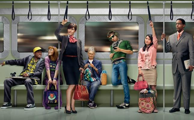 gente in metropolitana