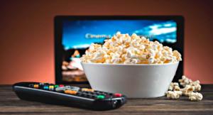 tv e popcorn