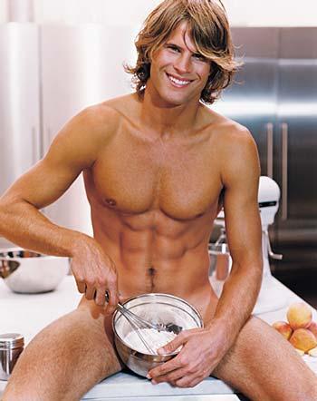 L'uomo che cucina.