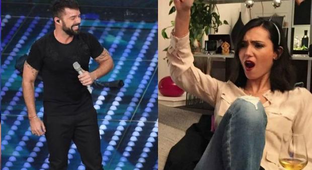 Caterina Balivo Ricky Martin