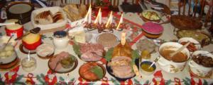 Buffet-natalizio-svedese-Julbord