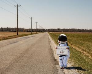 astronauta autostop