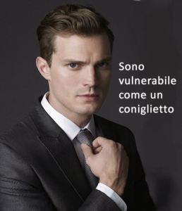 christian grey vulnerabile