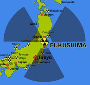 giappone radioattivo