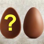 sorpresa di merda uovo di Pasqua