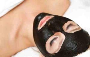 maschera-nera-carbone-punti-neri