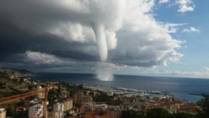 tromba d'aria a Sanremo