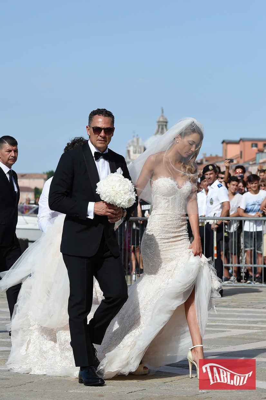 Alvaro Morata ha sposato Alice Campello a Venezia: Video e Foto