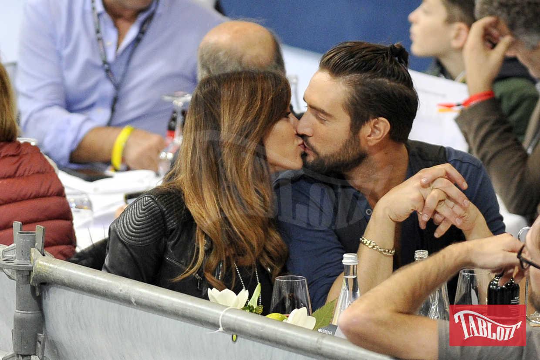Alex Belli e Mila Suarez ospiti di Fieracavalli a Verona