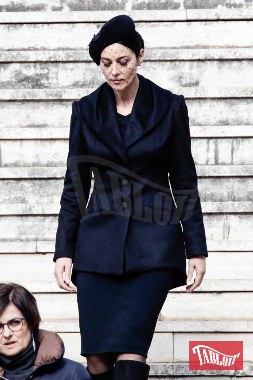 """Monica Bellucci nel 2015 sul set di Spectre, l'ultima avventura di James Bond. Sembra che anche per il prossimo film di 007 Daniel Craig la voglia come """"Bond Lady"""""""
