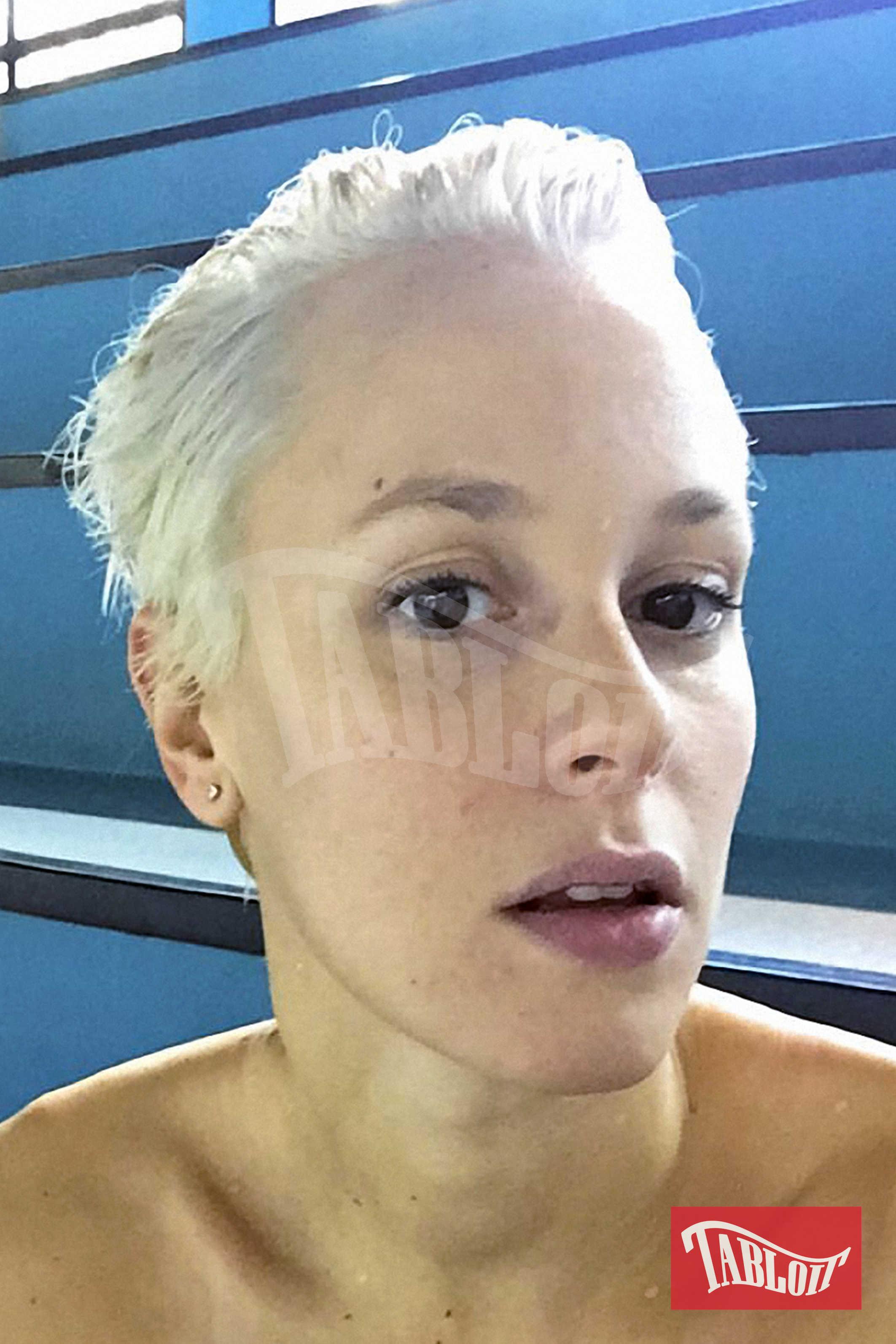 Federica e il nuovo look: la campionessa si è ispirata a Tempesta, supereroina mutante della Marvel dai capelli grigio ghiaccio