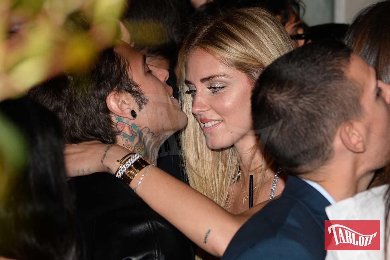 Chiara Ferragni e Fedez al 30esimo compleanno della fashion blogger, festeggiato da Mimmo a Milano
