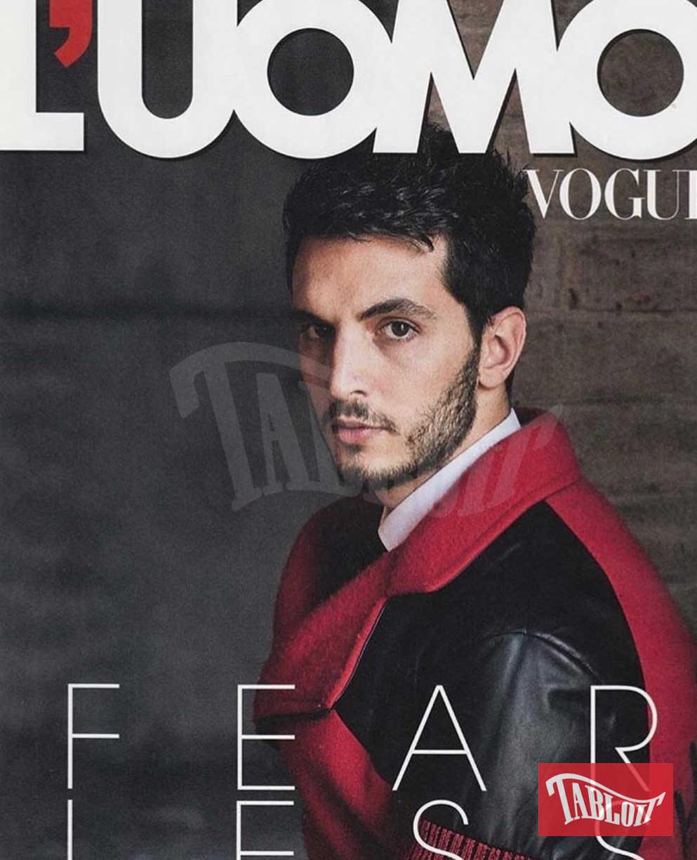 Giacomo Ferrara icona fashion: eccolo sulla copertina dell'Uomo Vogue