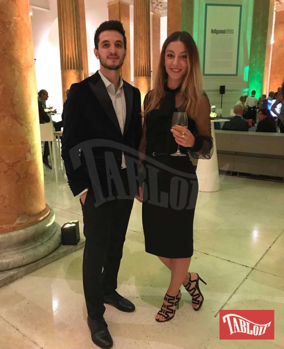 Giacomo Ferrara insieme alla fidanzata, la collega Cristina Del Grosso