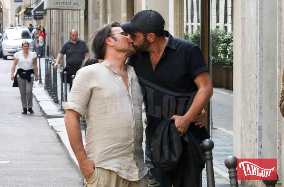Scialpi e Roberto Blasi ai tempi del loro amore