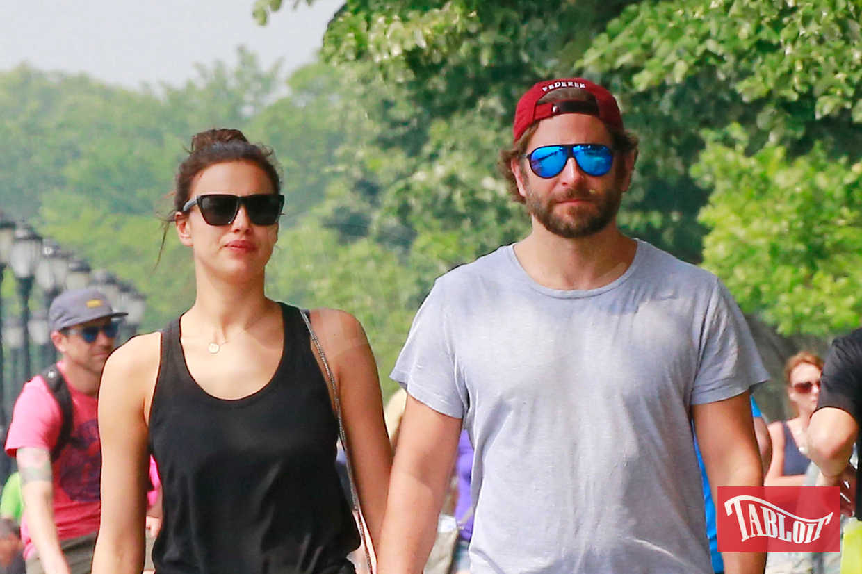 Bradley Cooper e Irina Shayk nel giugno 2016 durante una passeggiata a New York