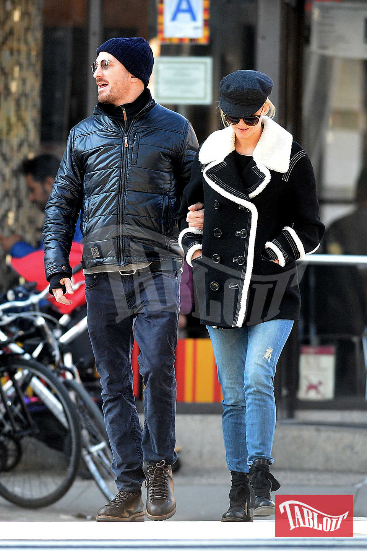 Jennifer Lawrence e Darren Aronofsky insieme a New York lo scorso gennaio