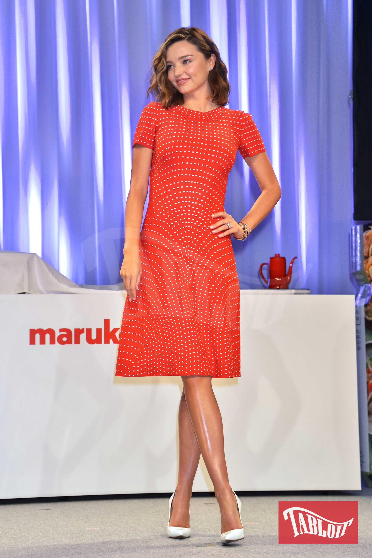 Miranda Kerr lo scorso giugno a Tokyo durante un evento mondano