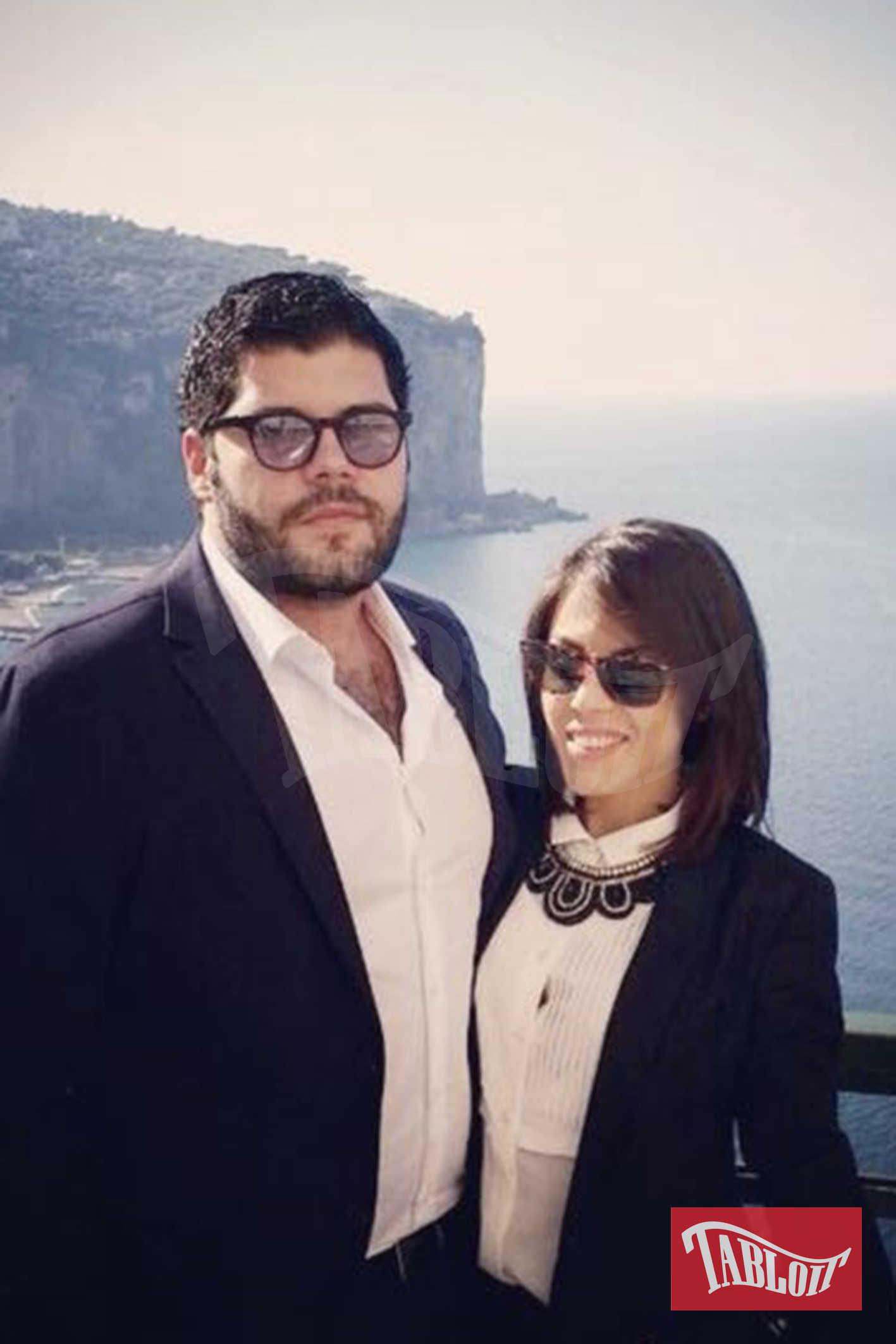 Salvatore Esposito con la fidanzata Paola Rossi, studentessa di giurisprudenza che sogna di fare la cantante