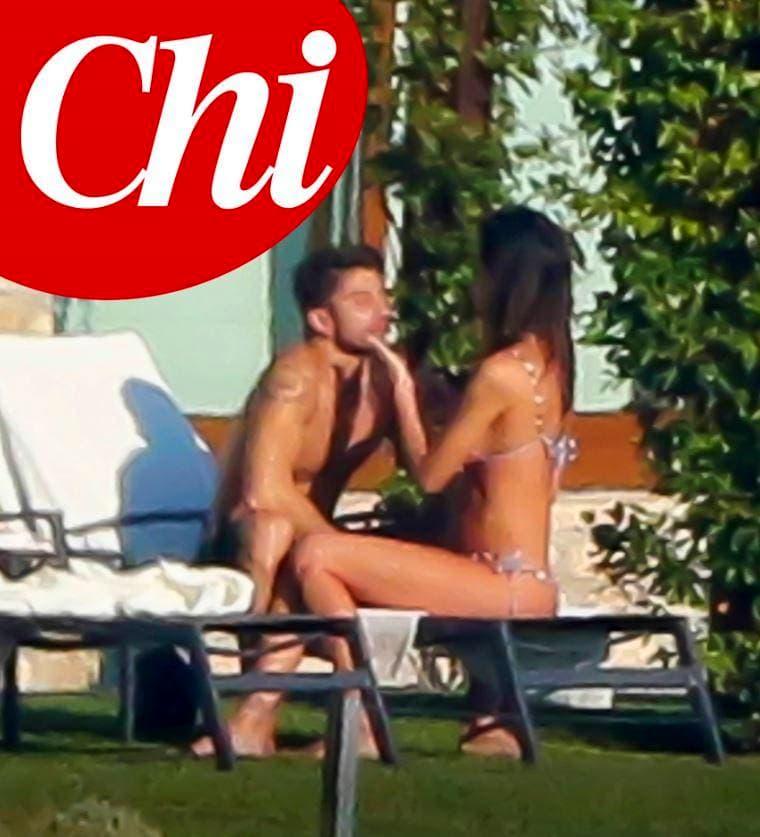 Belen Rodriguez e Andrea Iannone al Lefay Hotel Spa sul Lago di Garda