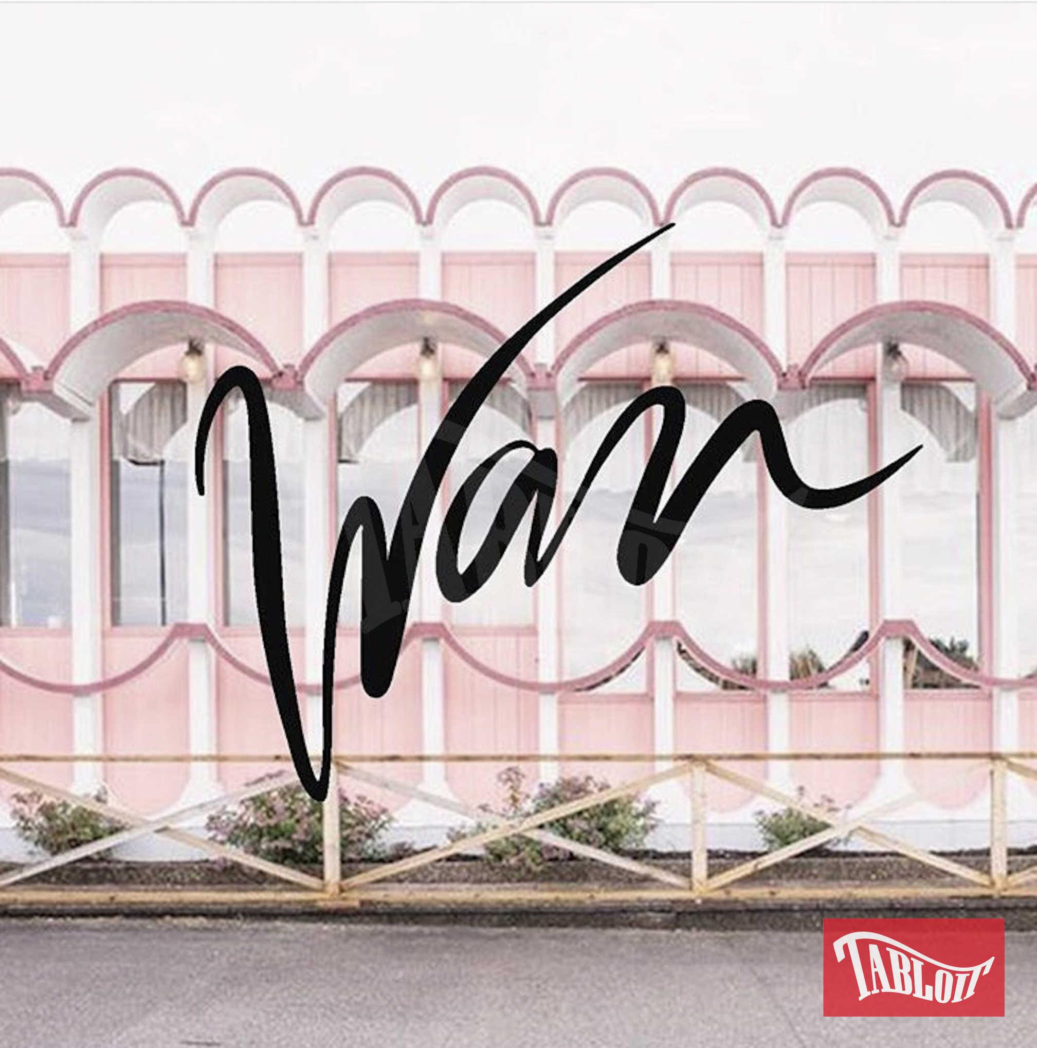 Il logo di Wan, nuova collezione moda firmata da Wanda Nara