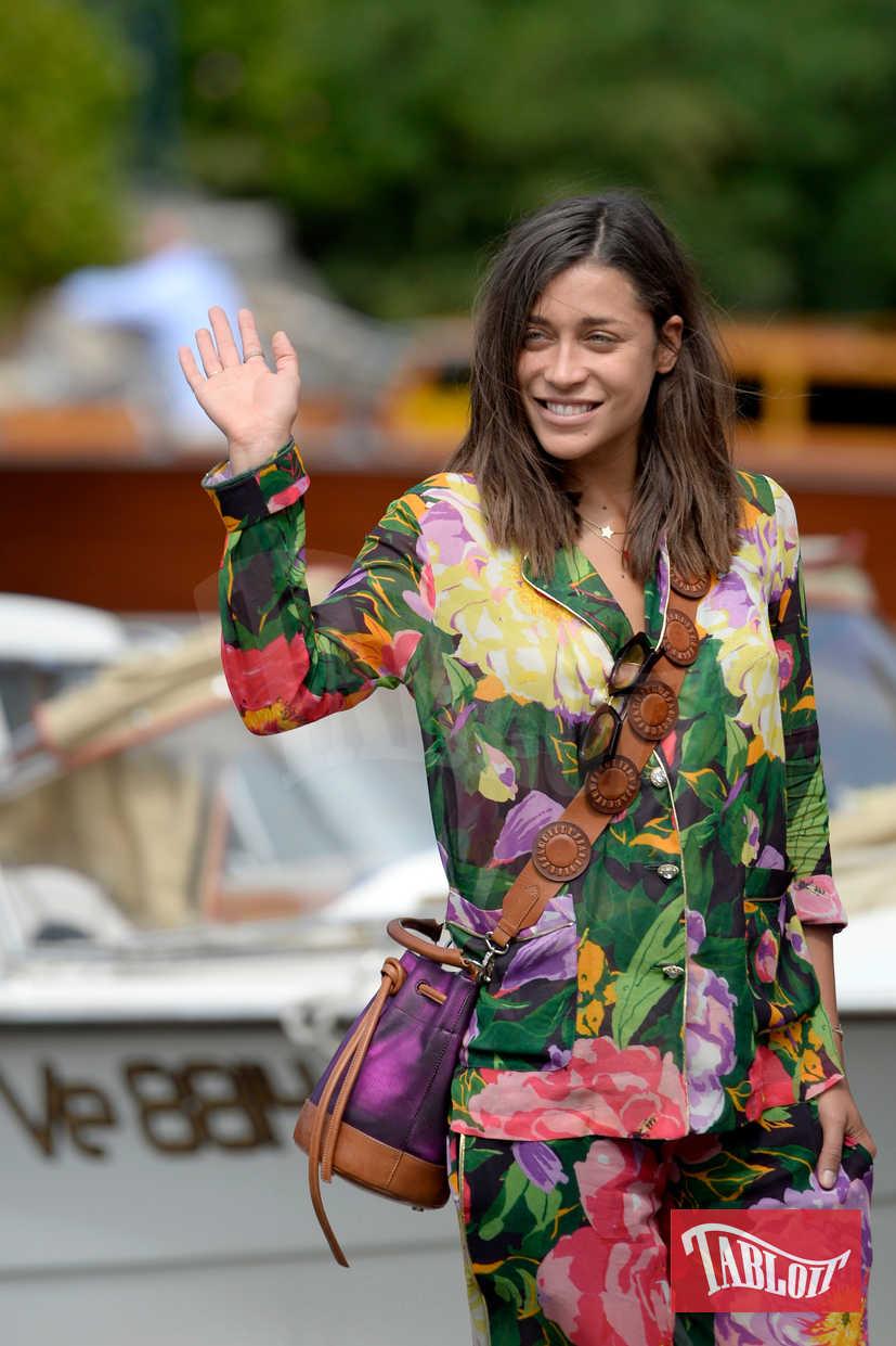 Ludovica Frasca all'hotel Excelsior di Venezia in occasione della Mostra del Cinema, lo scorso settembre