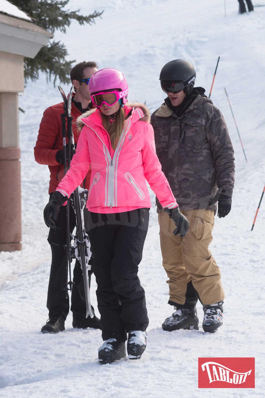 Paris Hilton e il fidanzato Chris Zylka ad Aspen