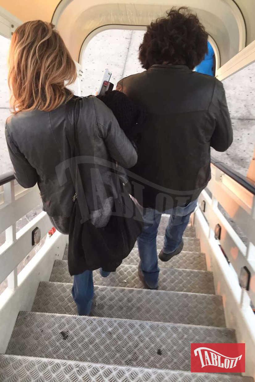 Renga e la compagna Diana Poloni arrivano in Oman
