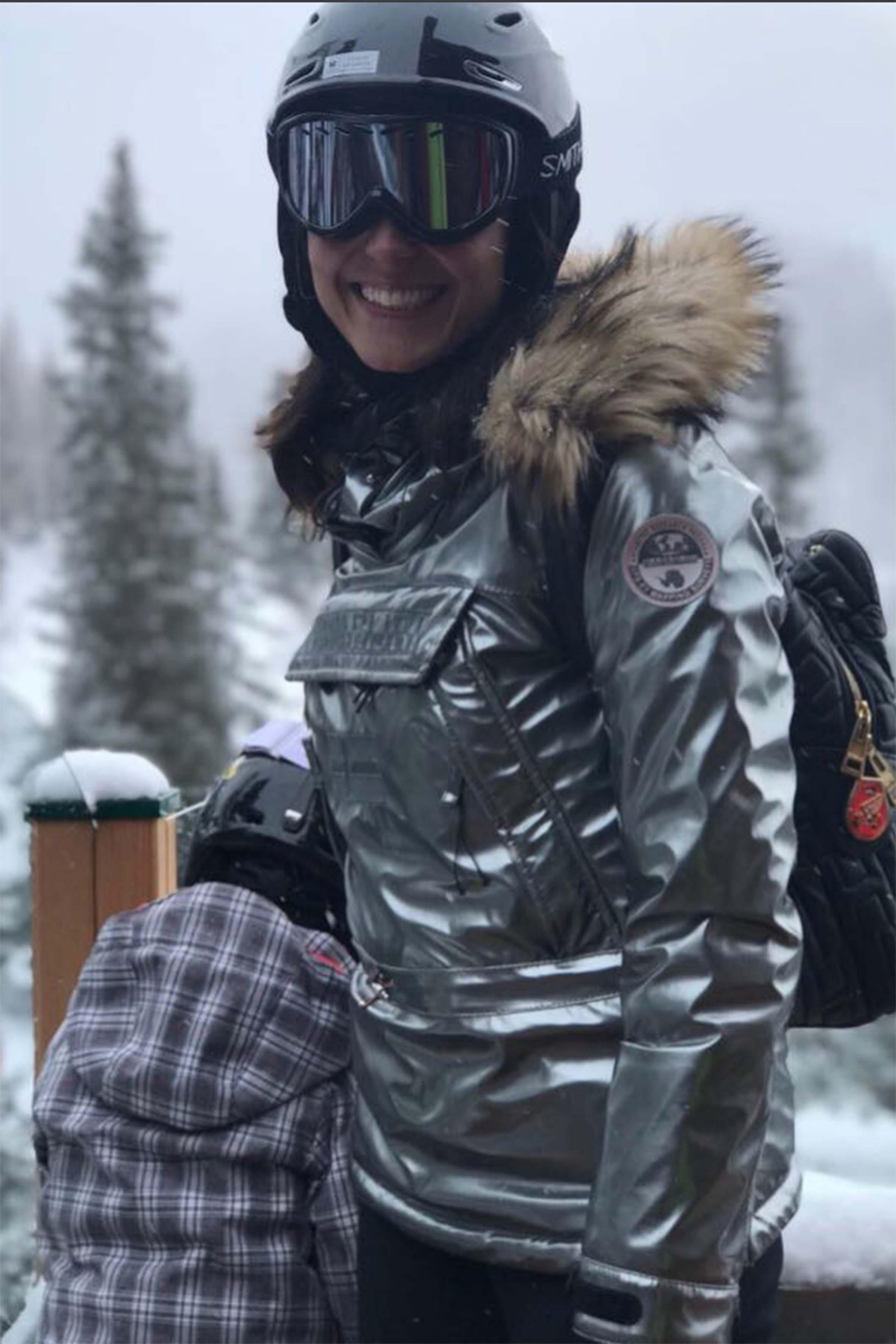 Caterina Balivo in montagna