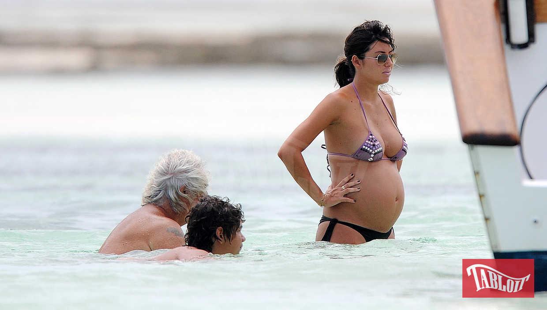 Briatore e Gregoraci a Malindi nel 2010: Elisabetta è in attesa di Nathan Falco