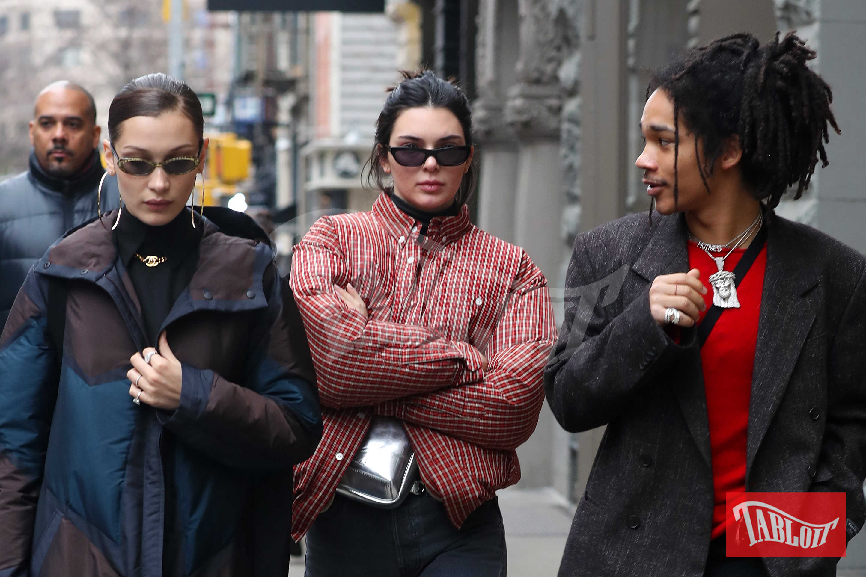 Bella Hadid, Luka Sabbat e Kendall Jenner