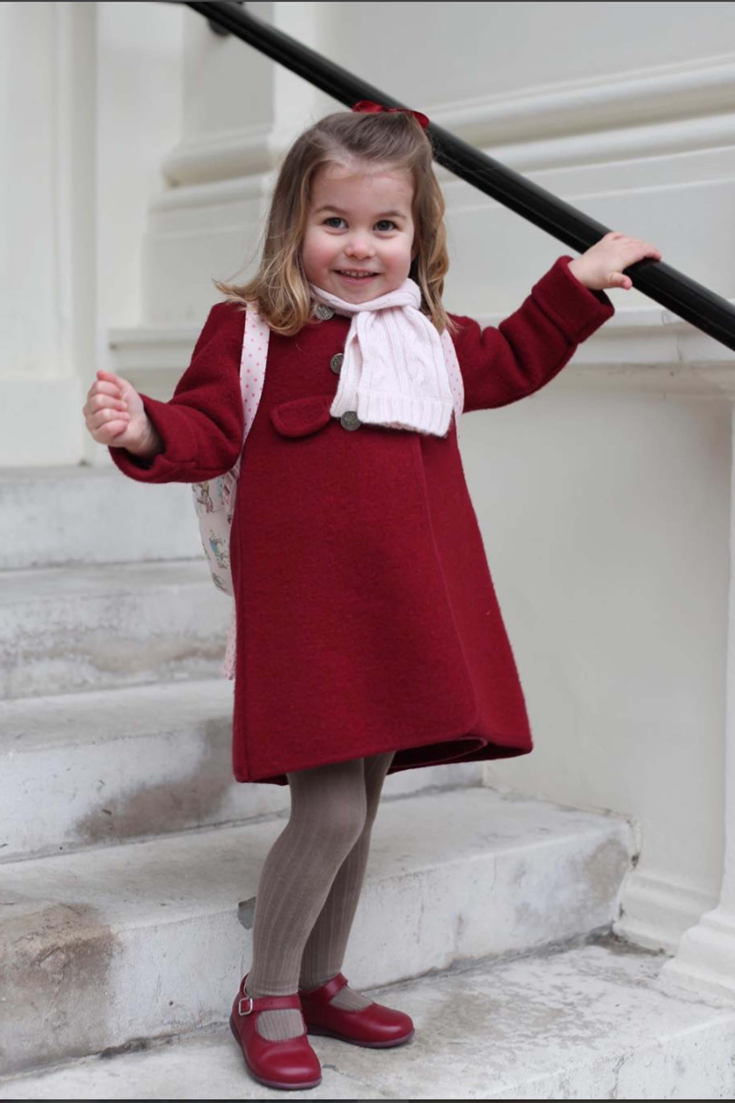 Kate Middleton compie 36 anni e festeggia l'esordio di Charlotte ...