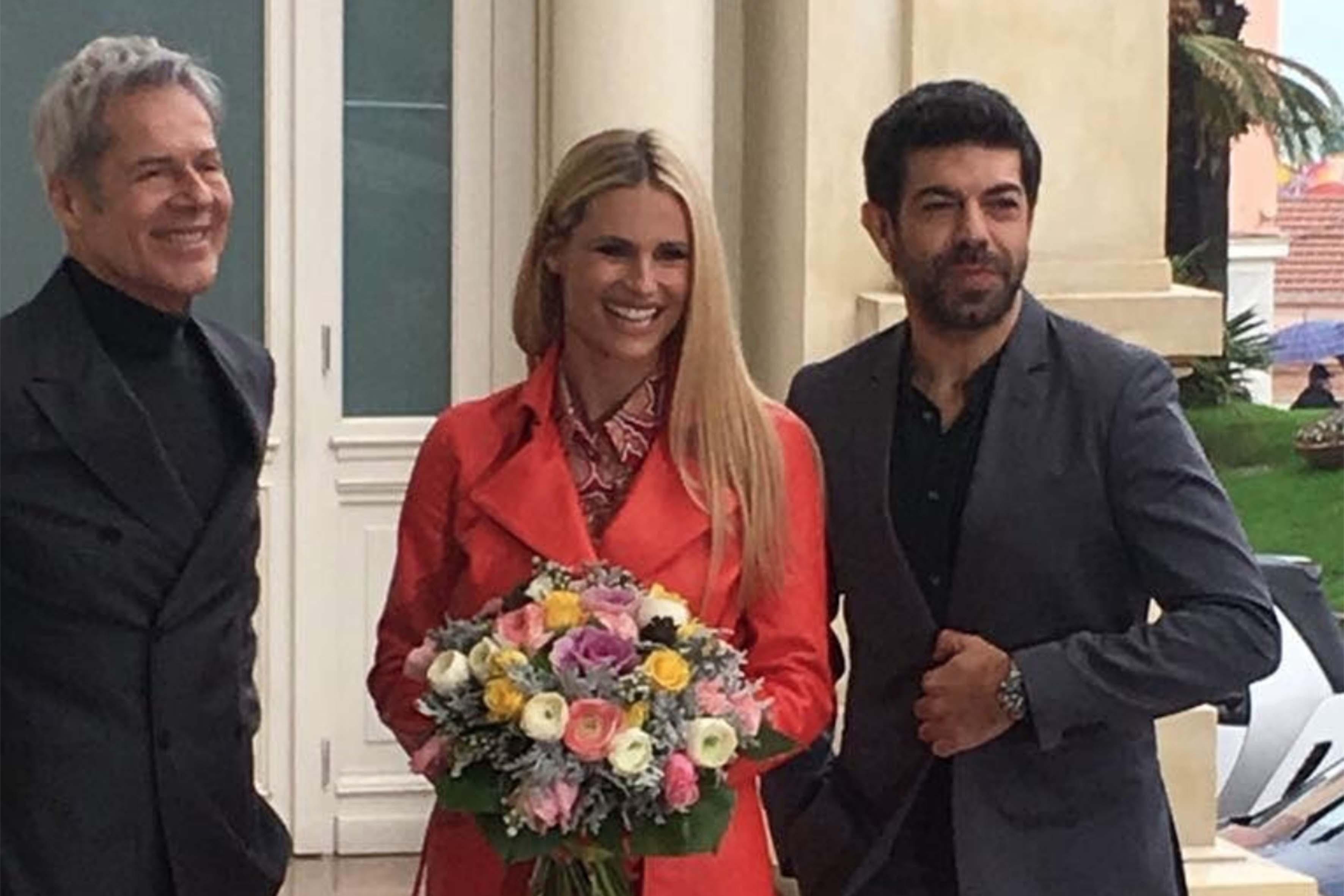 Alcune foto social della presentazione di Sanremo 2018
