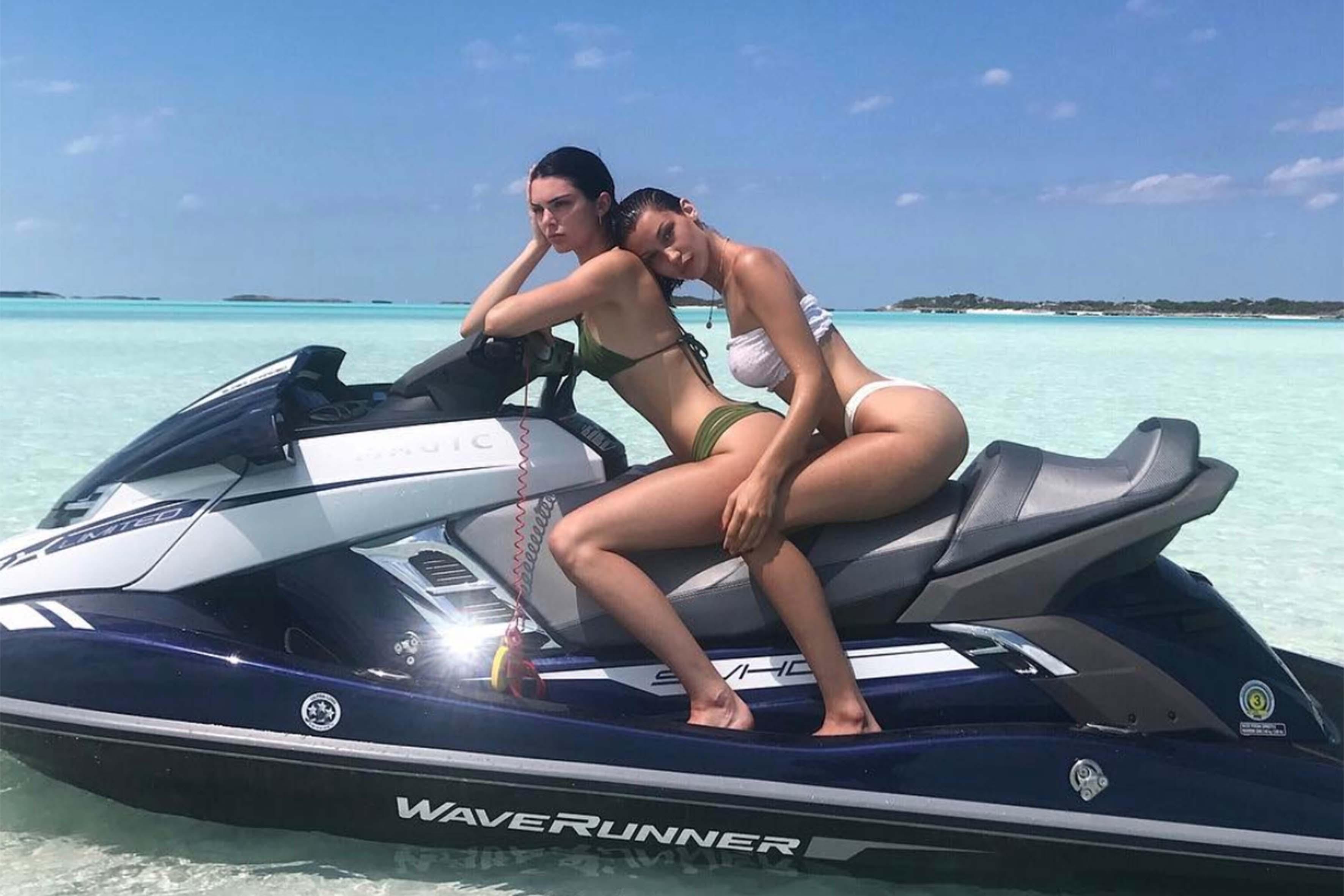Bella Hadid e Kendall Jenner
