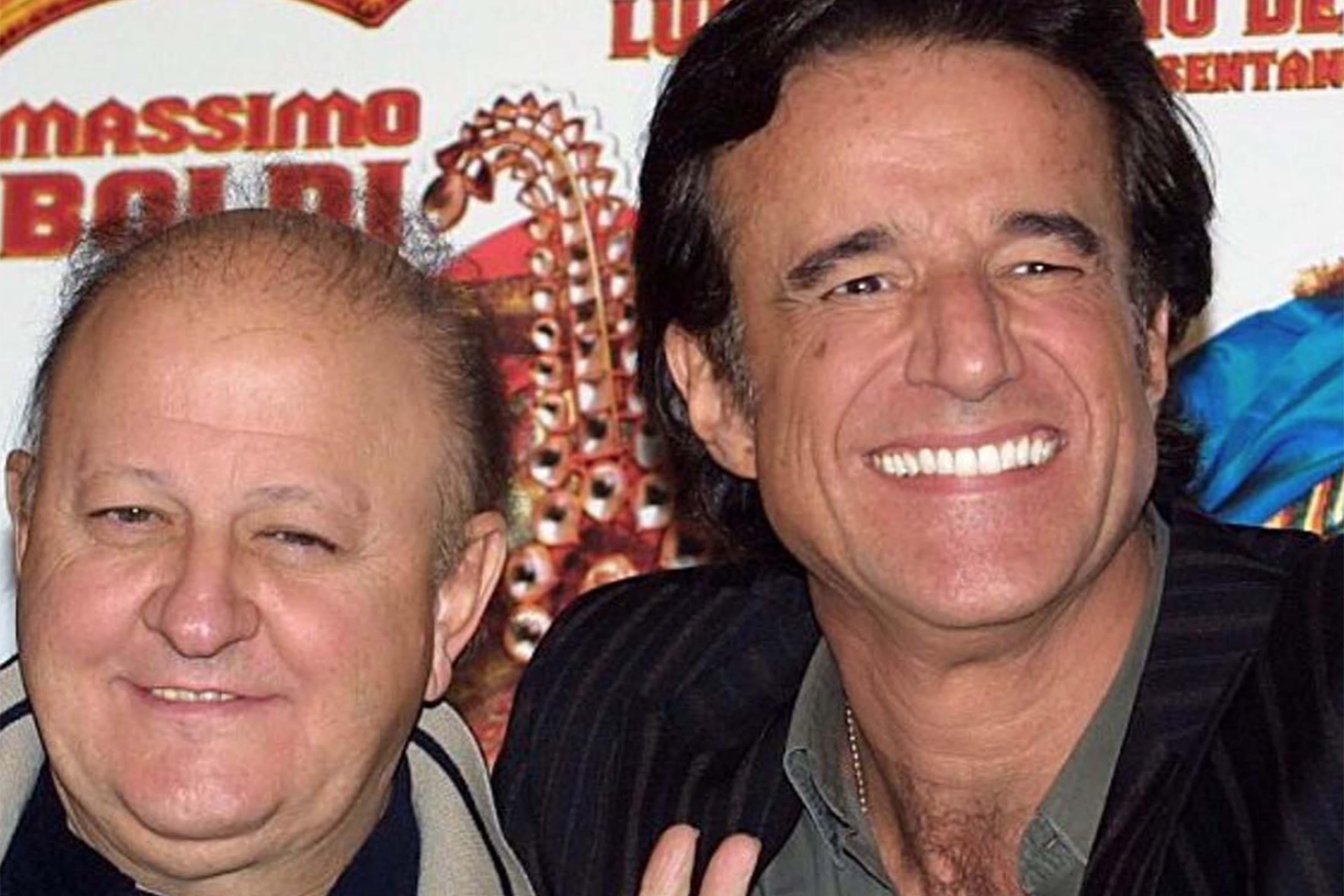 Christian De Sica e Massimo Boldi
