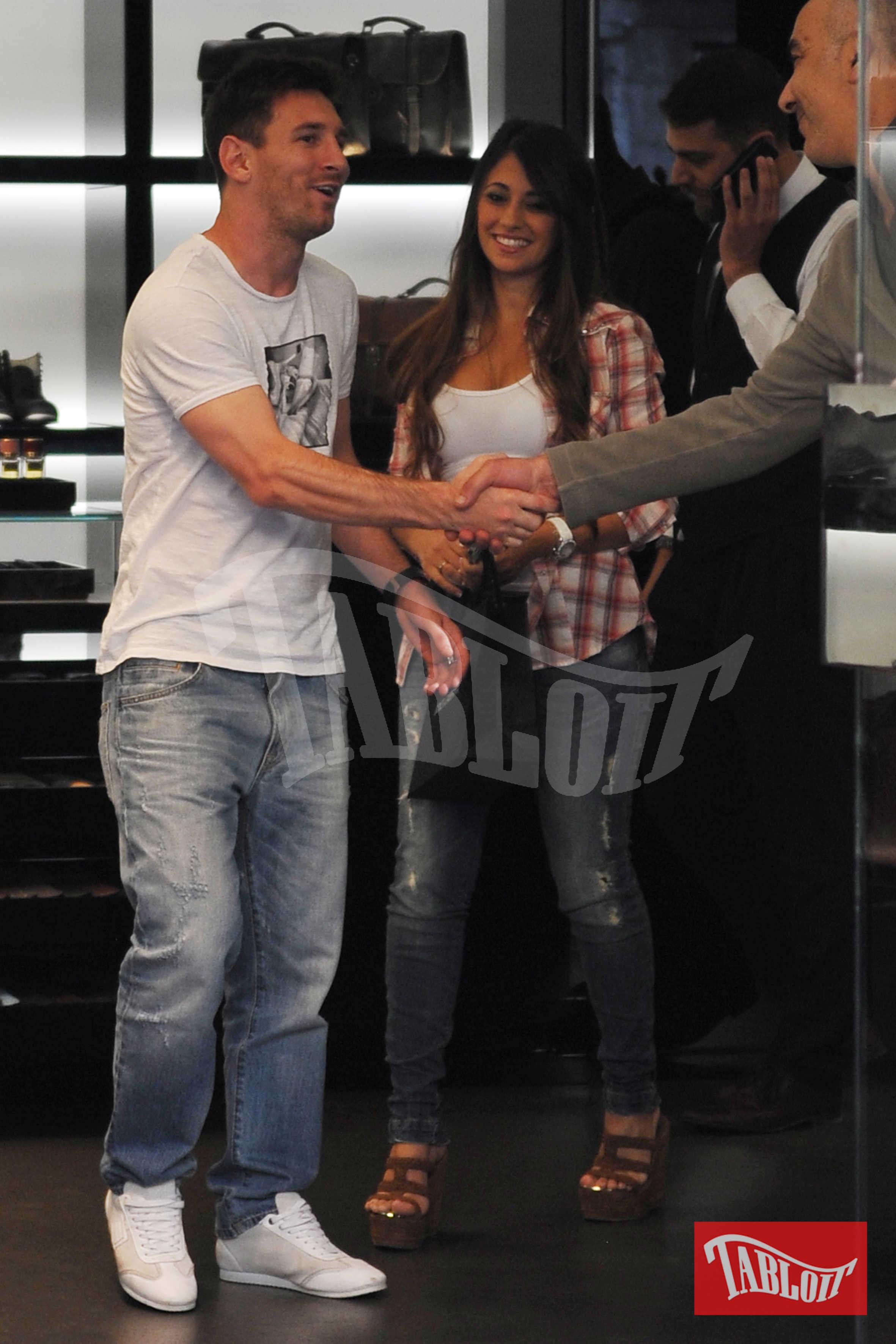 Leo Messi e Antonella Roccuzzo