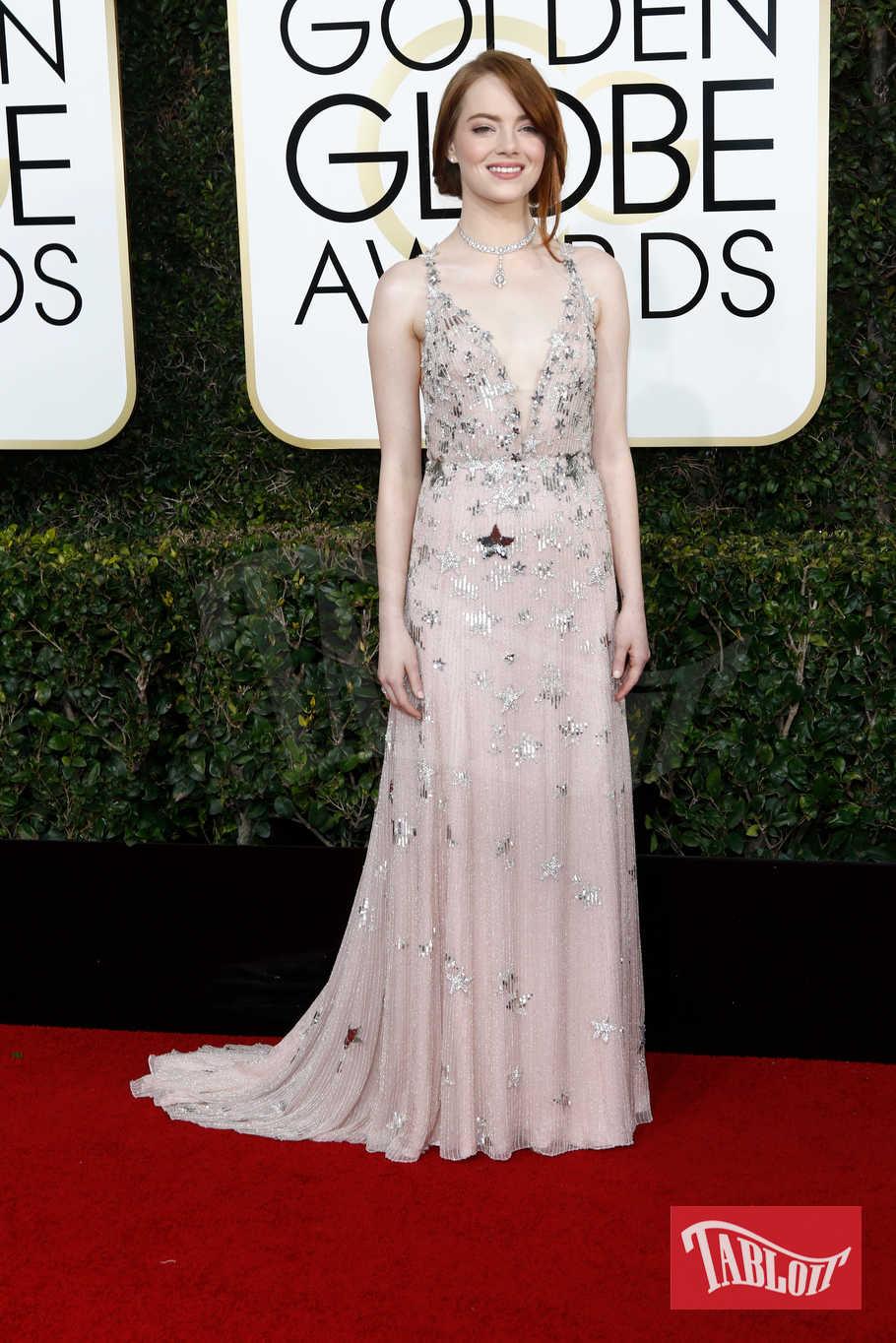 """L'anno scorso Emma Stone vinse il globo d'oro come Miglior attrice protagonista per """"La La Land"""". L'attrice è in concorso anche quest'anno con """"La battaglia dei sessi"""": doppietta in arrivo?"""