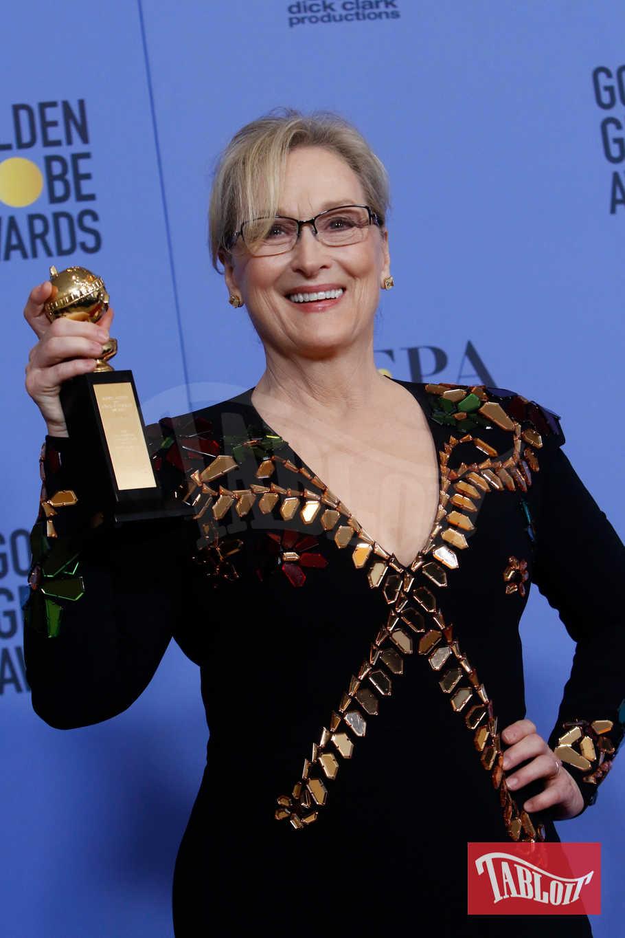"""Meryl Streep detiene il record di 30 candidature ai Golden Globes, e di 9 vittorie (di cui uno alla carriera consegnatole lo scorso anno). Ai prossimi Golden l'attrice è candidata come miglior attrice per la sua interpretazione nel film """"The Post"""""""