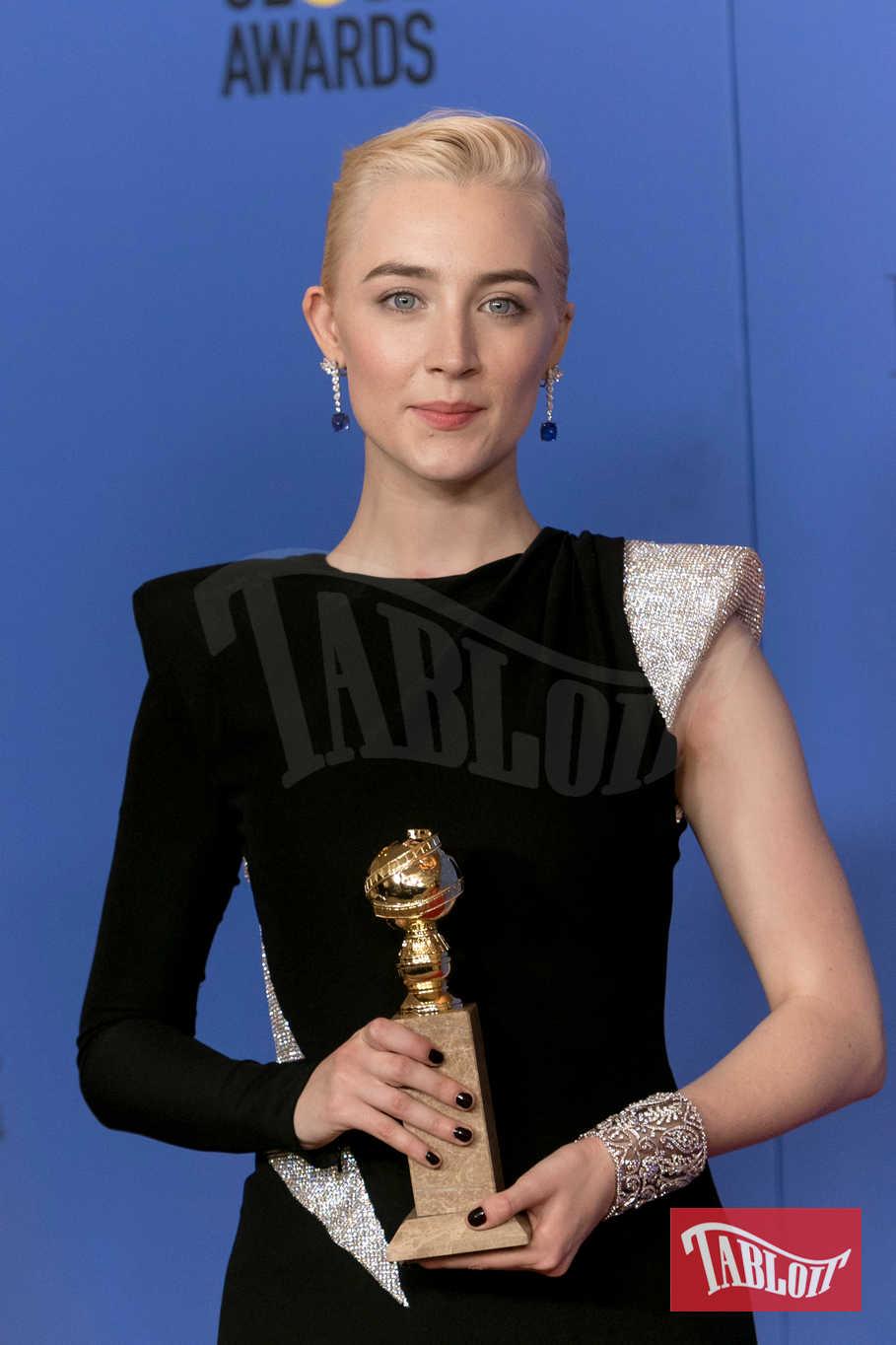 Saoirse Ronan ha vinto il Globo d'Oro come miglior attrice nel film Lady Bird