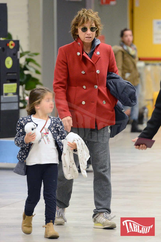 Gianna Nannini nel 2015 insieme alla figlia Penelope