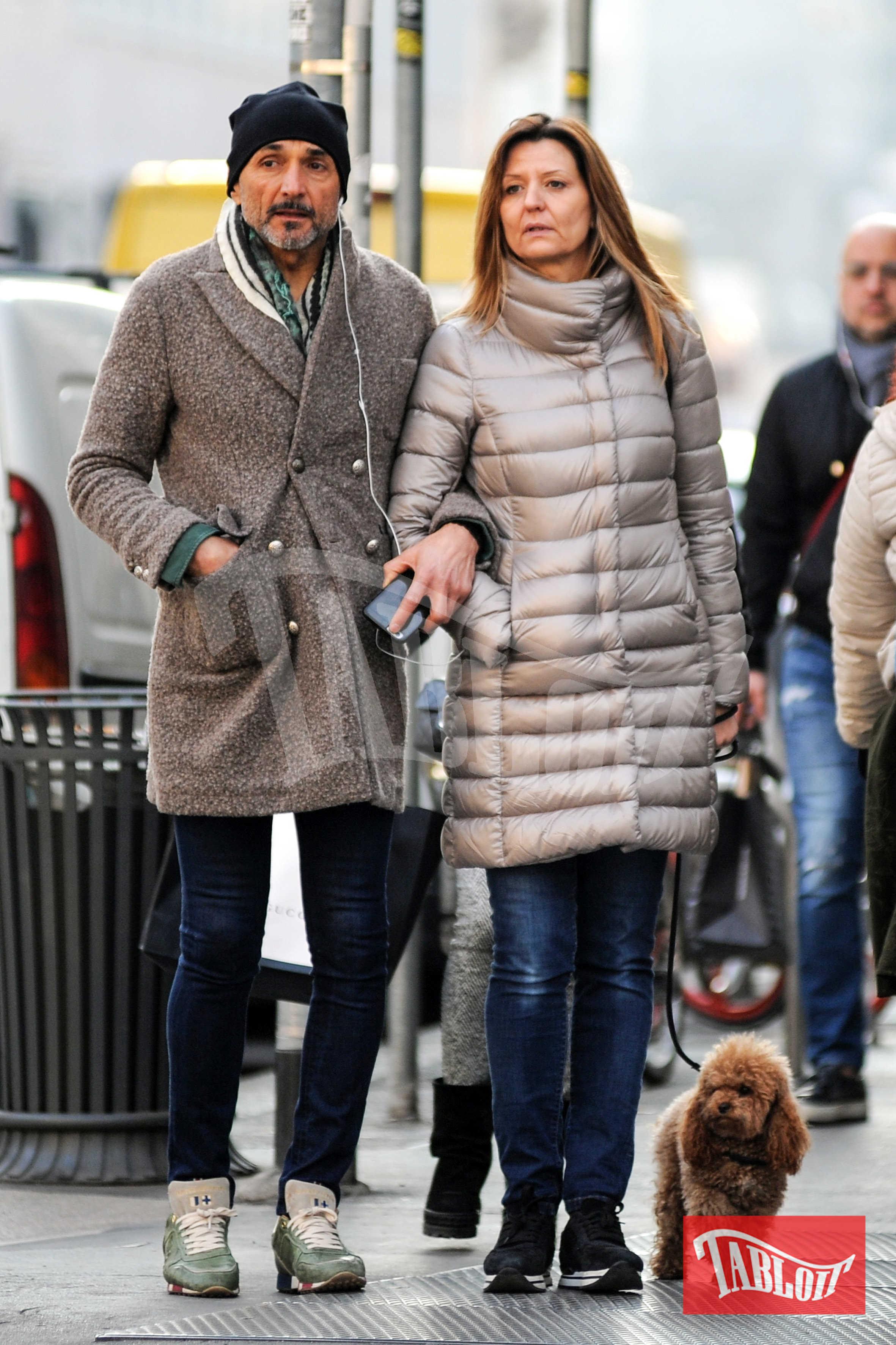 Luciano Spalletti e Tamara Spalletti