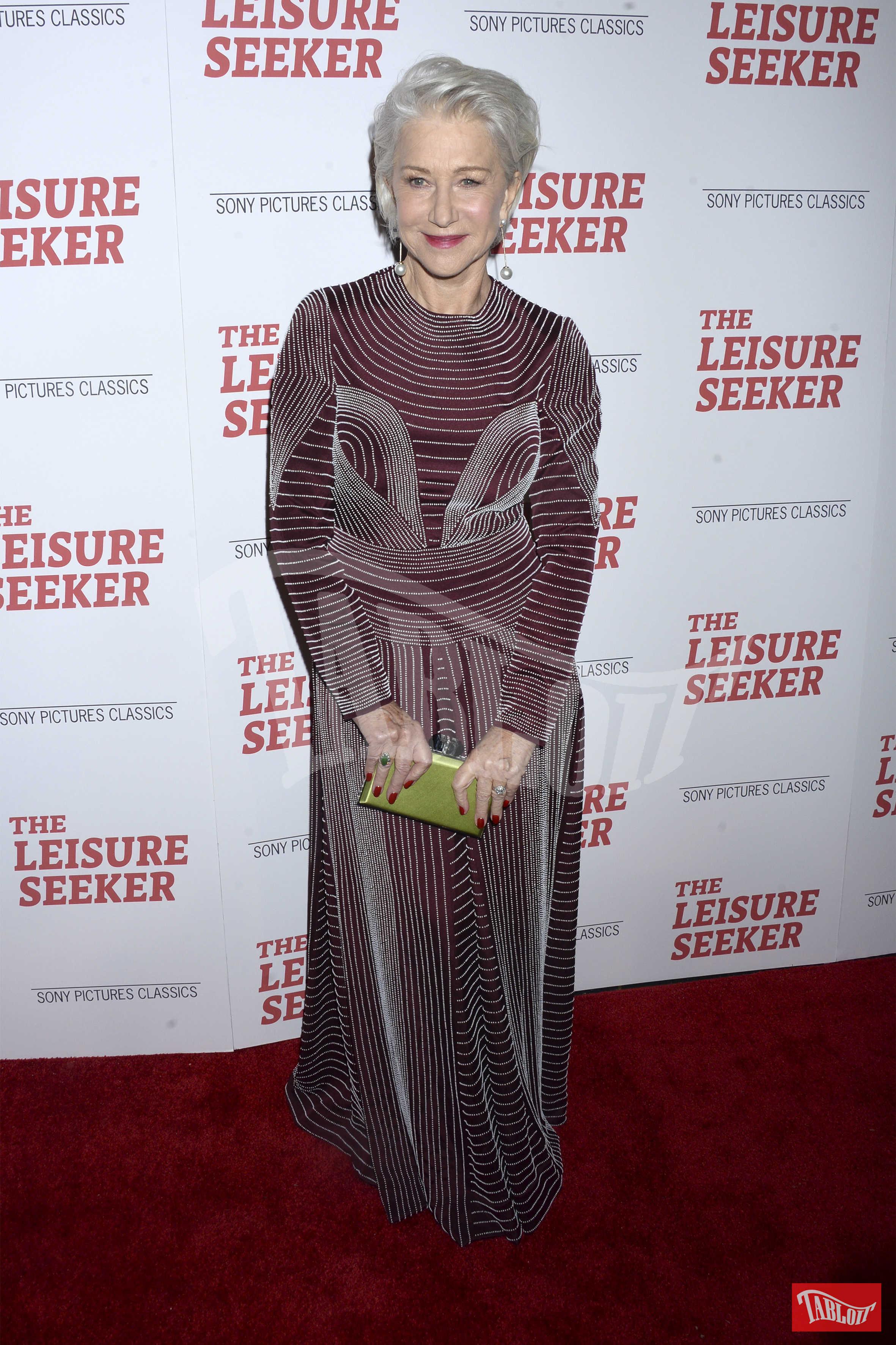 Helen Mirren in total look Valentino