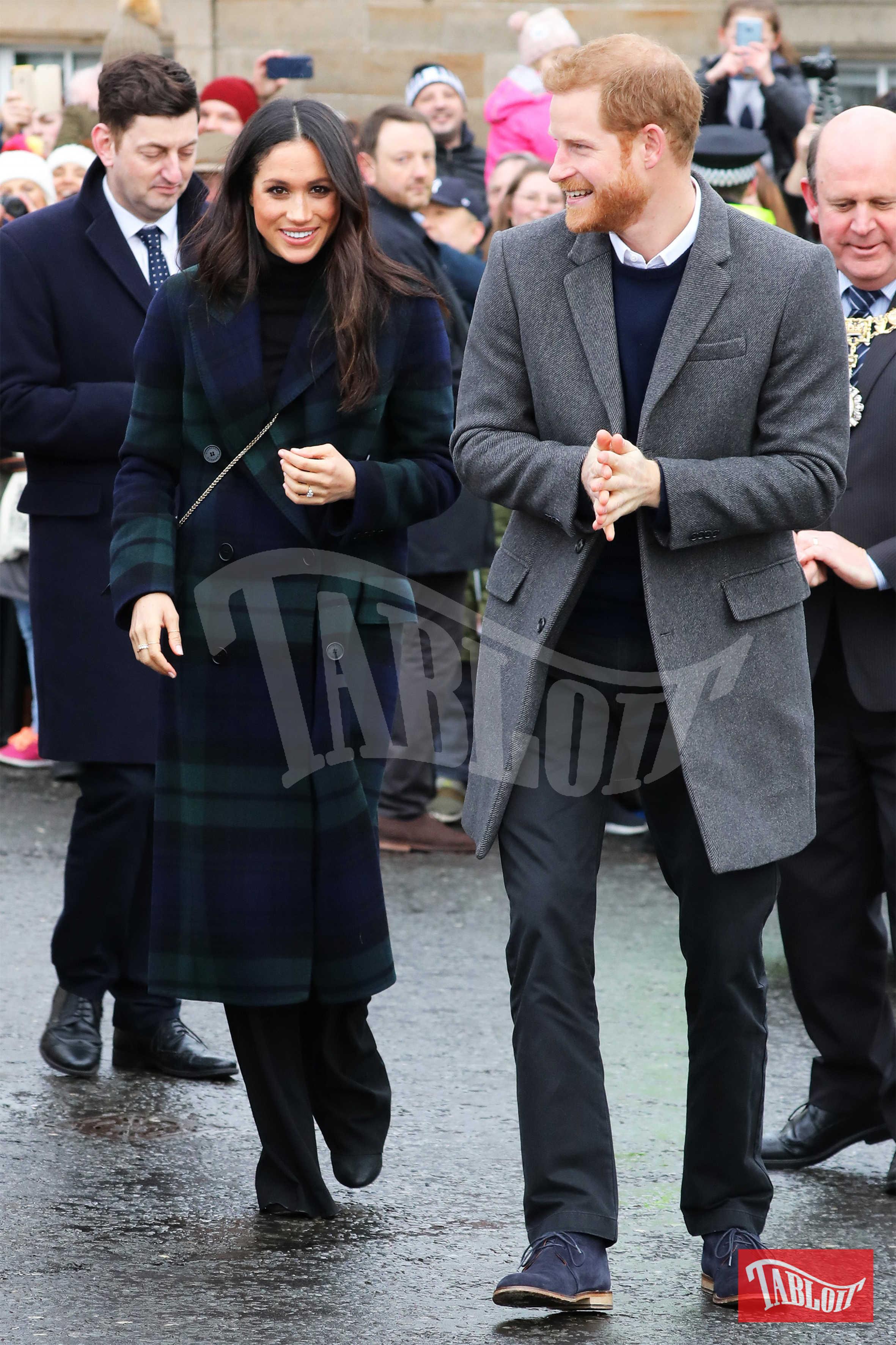 Il principe Harry e Meghan Markle