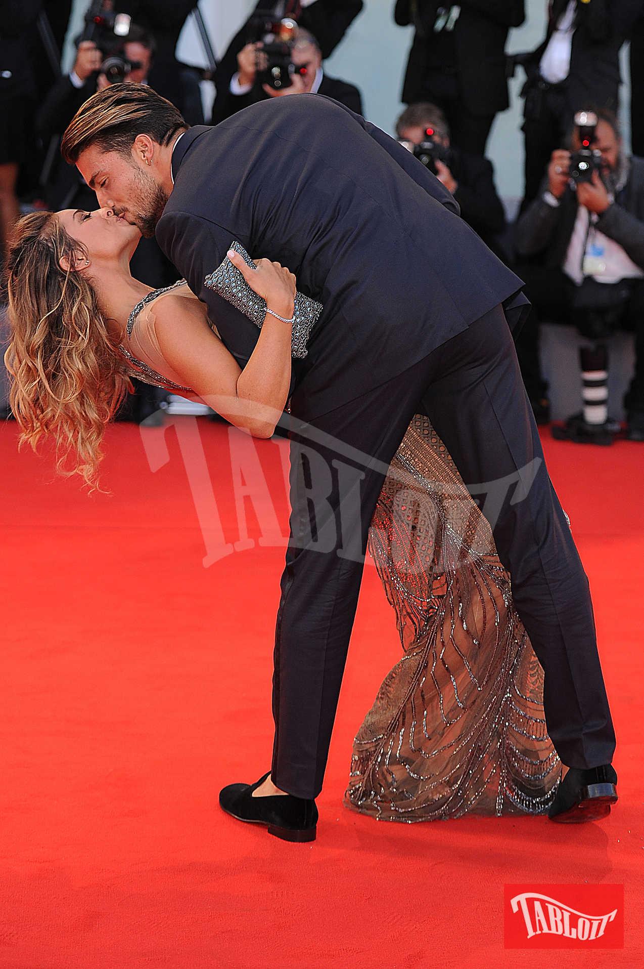 Eleonora Brunacci e Mariano Di Vaio sul red carpet del Festival del Cinema di Venezia