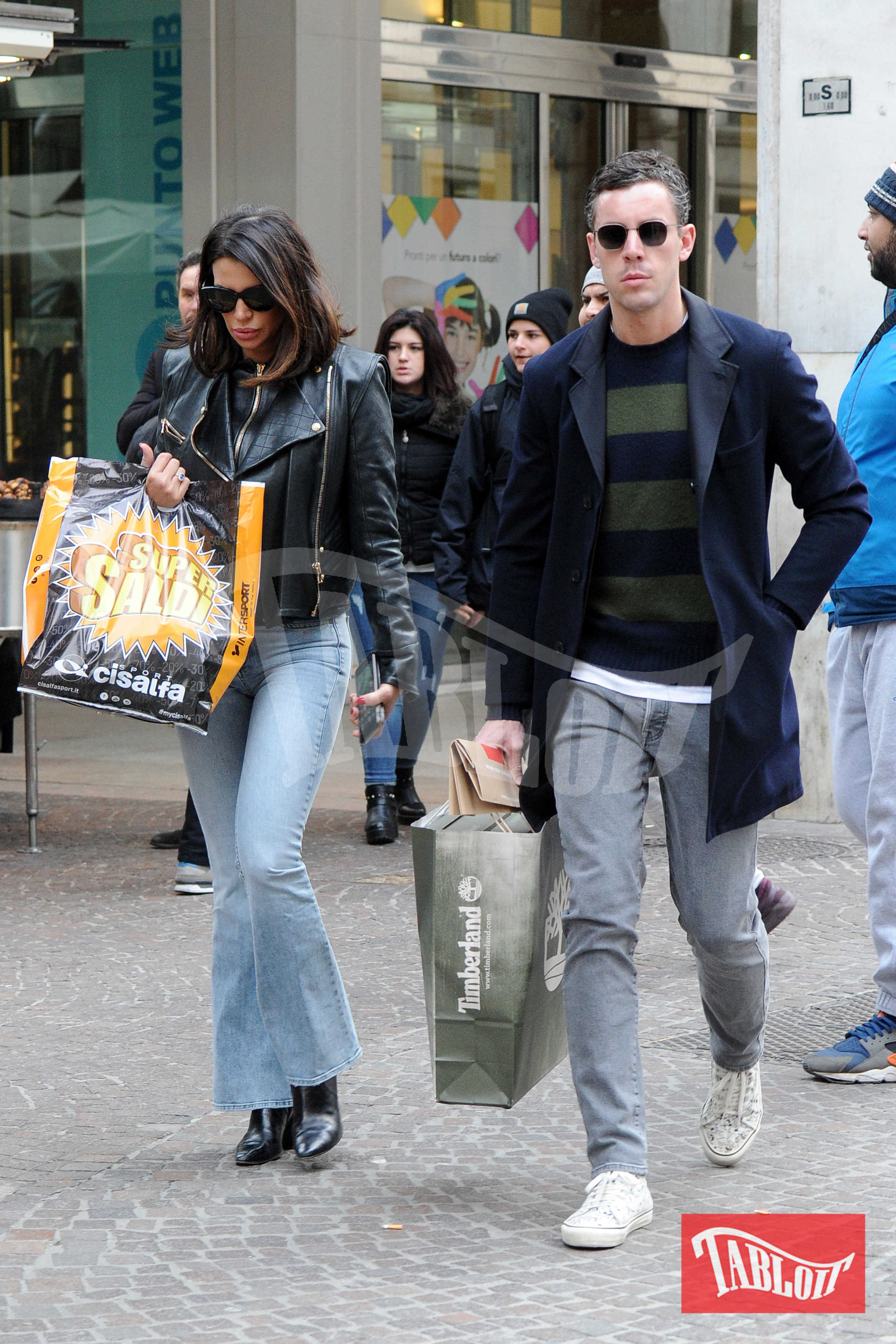 Claudia Galanti e Luca Baronchelli