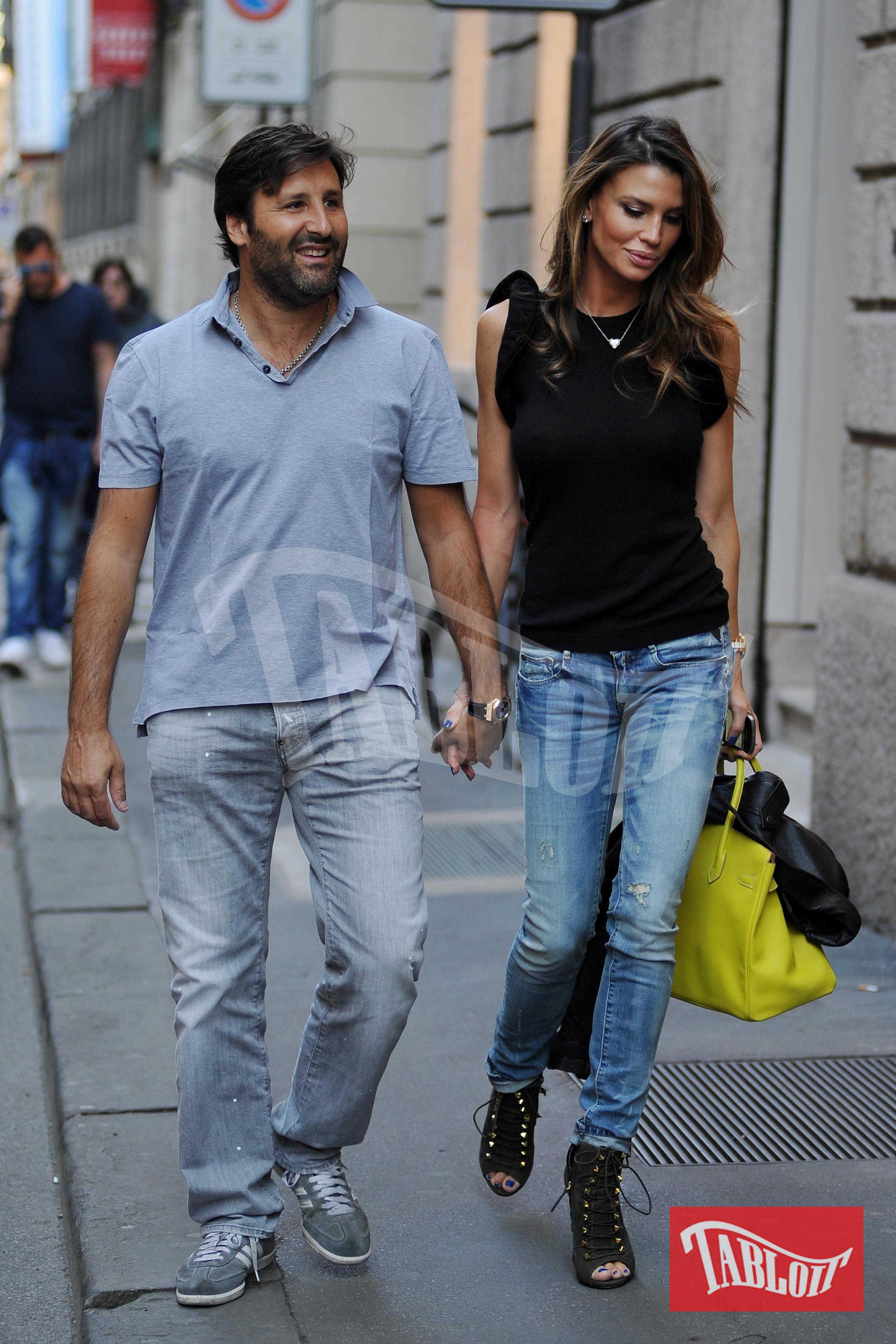 Claudia Galanti e Arnaud Mimran
