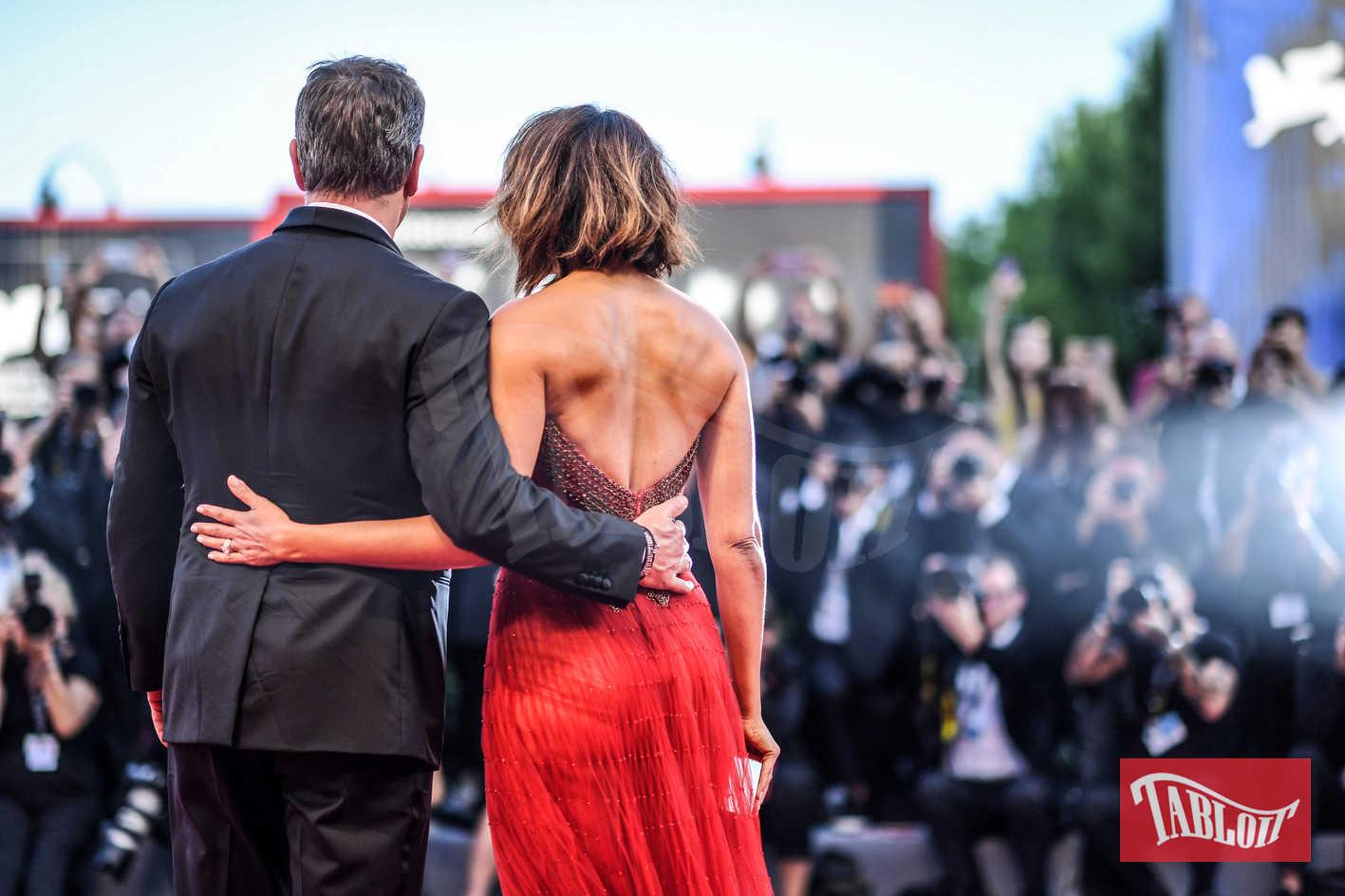 Matt Damon e Luciana Barroso festival cinema venezia 2018